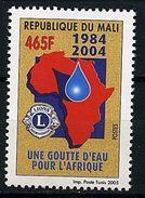 MALI 2005 YT 1858  LIONS CLUB UNE GOUTTE D'EAU POUR L'AFRIQUE WATER MNH ** RARE - Rotary, Lions Club