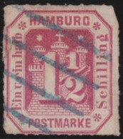 Hamburg       .   Michel   .    21        .            O       .               Gebraucht - Hamburg