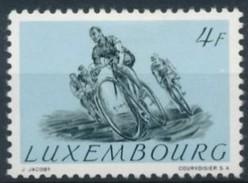 Luxemburg Luxembourg 1952 Yvertn° 459 *** MNH Cote 30 Euro Sport Cyclisme Wielrennen - Luxemburgo