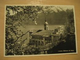 LOCARNO S. Caterina Del Sasso Madonna Basilica Santuario Lago Maggiore Post Card TICINO Switzerland - TI Tessin