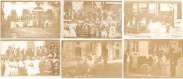 Dépt 64 - PAU - Lot De 7 Photos 9 X 14 Cm - Asile Saint-Luc, CONGRÈS DES ALIÉNISTES (1904) - Prof. Brissaud, Folie,photo - Pau