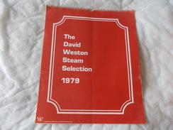 Calendrier Calendar The David Weston Steam Selection 1979 Chemin De Fer Train - Books, Magazines, Comics