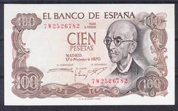 ESPAÑA 1970  100 PESETAS  MANUEL DE FALLA  NUEVO. SIN CIRCULAR PLANCHA  .  B873 - [ 3] 1936-1975 : Regency Of Franco