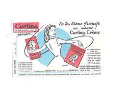 Buvard  Crème Frisante Curling - Buvards, Protège-cahiers Illustrés