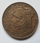 MEDAILLE - FRANCE - SOUVENIR D'UNE VISITE A LA MONNAIE - 1830 - PARIS - Tourist