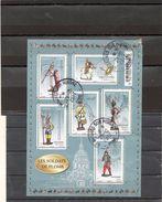 FRANCE   Feuillet De 6 Timbres 0,60 €    2012    Y&T: F4665   Abîmé En Haut à Gauche    Oblitéré - Sheetlets