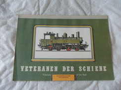 Calendrier Calendar Veteranen Der Schiene Veterans Of The Rail PICADOR 1979 - Boeken, Tijdschriften, Stripverhalen