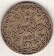 ETAT DE SYRIE . 5 PIASTRES 1935 AILE - Siria