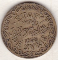 ETAT DE SYRIE . 5 PIASTRES 1935 AILE - Syrië
