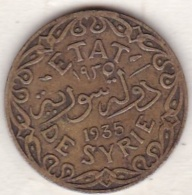 ETAT DE SYRIE . 5 PIASTRES 1935 AILE - Syria