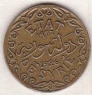 ETAT DE SYRIE. 5 PIASTRES 1926 TORCHE - Siria