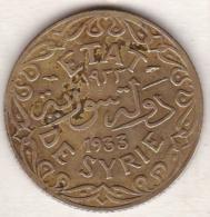 ETAT DE SYRIE . 5 PIASTRES 1933 AILE - Siria