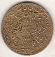 ETAT DE SYRIE . 5 PIASTRES 1933 AILE - Syrie