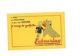 Buvard  Gaufrettes Eubeurlay La Véritable Gaufrette Feuilletée - Blotters