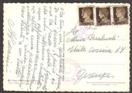 1942 - Cartolina Da S.Maria Capua Vetere Per Firenze 1.2.1941 A Firma Aldo Toscanini - Timbro Censura - Sassone 245 2+1 - Storia Postale