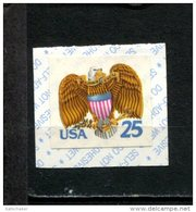299126882 1989 USA ** MNH SCOTT 2431 Eagle And Schield Birds Coil Stamp - Unused Stamps