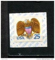 299126882 1989 USA ** MNH SCOTT 2431 Eagle And Schield Birds Coil Stamp - Nuevos