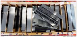 1 500 GR. DE BANDES HAWID SIMPLE SOUDURE FOND NOIR - LONGUEUR 210mm X HAUTEUR AU CHOIX.+ 10% GRATUIT- VOIR INFO - Postzegelhoes
