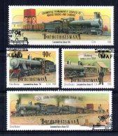 Bophuthatswana - 1991 - Steam Locomotives (1st Series) - Used/CTO - Bophuthatswana