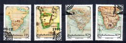 Bophuthatswana - 1991 - Old Maps (1st Series) - Used/CTO - Bophuthatswana