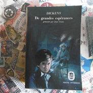 DE  GRANDES  ESPERANCES   DICKENS  LE  LIVRE  DE  POCHE  TEXTE  INTEGRAL - Livres, BD, Revues