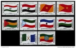 (398) Ethiopia / Ethiopie  Flags / Drapeaux / Flaggen / 2000 / Rare / Scarce ** / Mnh  Michel 1685-94 - Ethiopia
