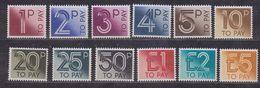 Great Britain 1982 Postage Due 12v ** Mnh (37106A) - Strafportzegels