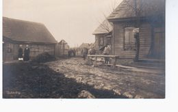 Dukshty  Ca 1918 OLD PHOTOPOSTCARD 2 Scans - Litauen