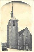 Carte Photo TREIGNY 89 Cathédrale De La Puisaye - Couvreurs Sur Le Clocher De L' Eglise - Treigny
