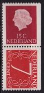 1964 Combinatie 15 + 7 Ct Rechts Ongetand Uit PB 1 NVPH C8 Ongestempeld - Carnets Et Roulettes