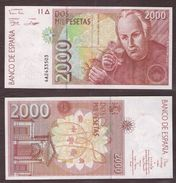 ESPAGNE - 2000 PESETAS José Celestino - 24/04/1992 (1996) - NEUF / UNC - [ 4] 1975-… : Juan Carlos I