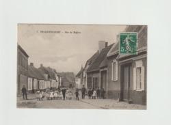 59/ Pecquencourt - Rue Du Beffroio - Trés Belle Animation , Carte écrite En 1912 - Frankreich