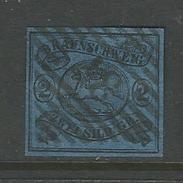 Braunschweig. Wappen Von Braunschweig, Nr. 7 A Stempel 37 - Brunswick