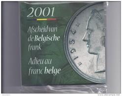 FDC-muntenset 2001 Origineel Geseald - FDC