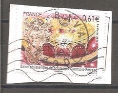 FRANCE 2014 :Y T N °4851 Oblitéré Cachet Rond Sur Fragment - Usati