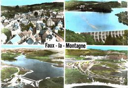 Faux La Montagne Vue Générale Barrage Lac Du Chammet Et La Colonie VOIR ETAT - Frankrijk