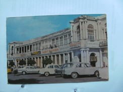 India New Delhi Connaught Place With Old Cars - India