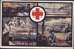 CP Officielle Croix Rouge Autrichienne En Bosnie Herzegovine Hercegovina Guerre 14 K Und K Post Sarajevo Bosacz YT 85 - Bosnia And Herzegovina