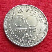 India 50 Paise 1964 C KM# 58.1  Inde Indie - India