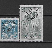 MONACO 1-2 Neufs** - Monaco