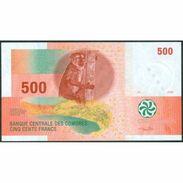 TWN - COMOROS 15b - 500 Francs 2006 Prefix G UNC - Comoros