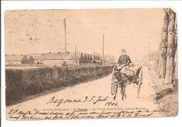 64 Le Boucau. Les Usines Saint-Gobain, Route De Bayonne.Charette D'Ane - Boucau