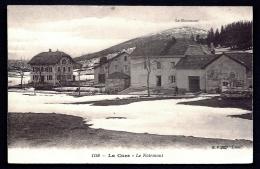 CPA ANCIENNE SUISSE- LA CURE EN HIVER- LES HOTELS- LE NOIRMONT- NEIGE- - VD Vaud