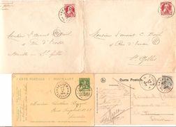 Belgique-België 7 Documents De Ou V.Laeken AP1178 - Belgium