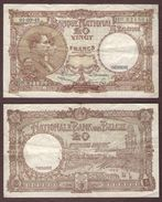 BELGIQUE - 20 FRANCS Albert Et Elisabeth - 01/09/1948 - 20 Francs