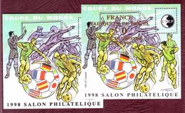 FRANCE Bloc CNEP N° 26/27 - Neufs ** Coupe Du Monde De Football - 1998 - CNEP