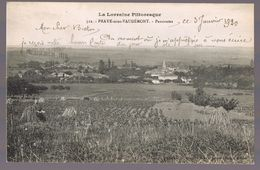 PRAYE - Sous - VAUDEMONT . Panorama . - Francia