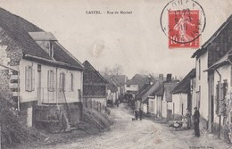Carte 1910 CASTEL / RUE DE MORISEL - France
