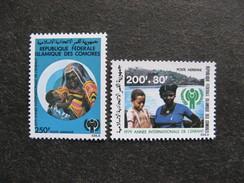 A). Comores: TB Paire PA N° 164 Et N°165, Neufs XX. GT. - Comores (1975-...)