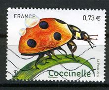 FRANCE 2017 /   YT 5147  COCCINELLE  OBL. - France